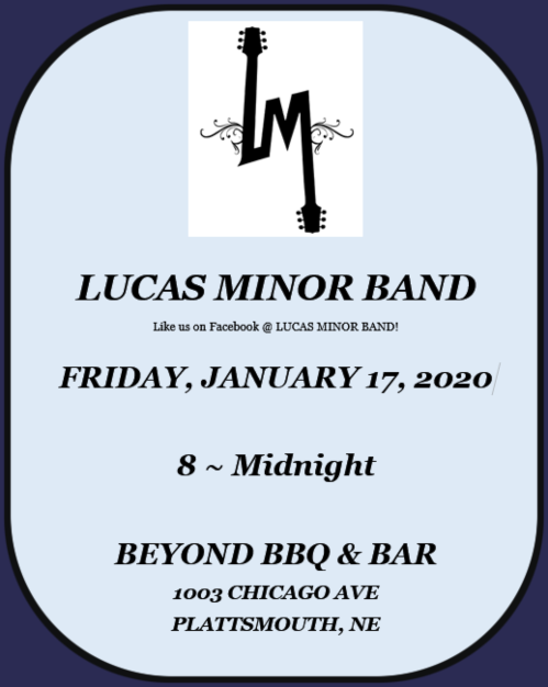 2020 01 15 Lucas Minor Band