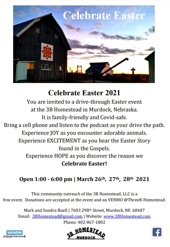 Celebrate Easter March 2021