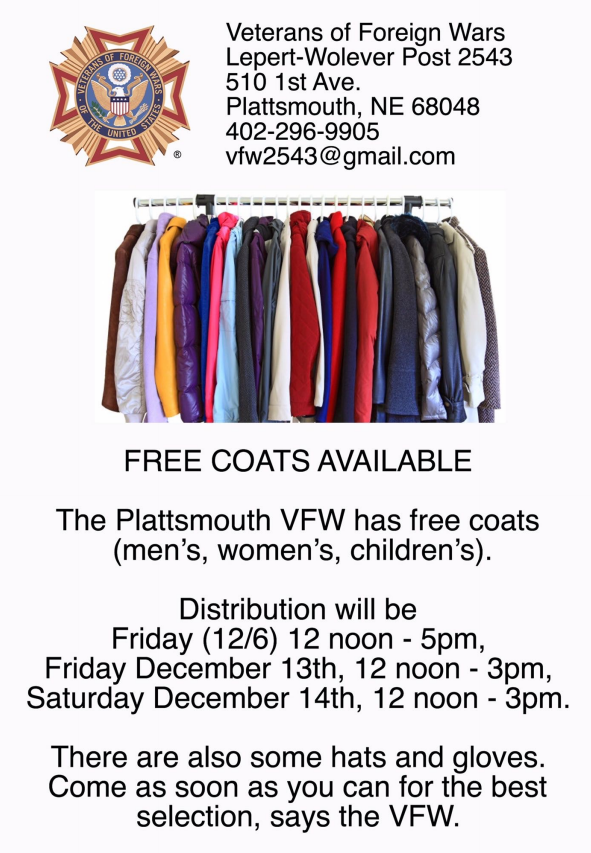 PL VFW coat drive